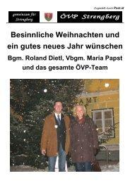 Besinnliche Weihnachten und ein gutes neues Jahr ... - Mostviertel