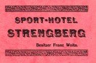 Prospekt anno 1930 -  Mostviertel
