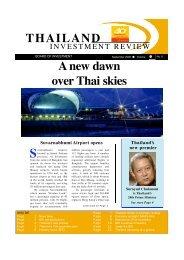 A new dawn o v e r Thai skies T H A I L A N D - The Board of ...