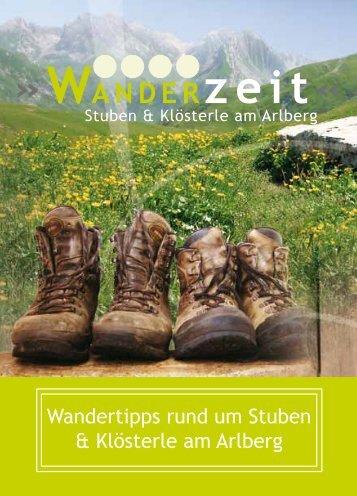 WANDERzeit« - Arlberg Alpin