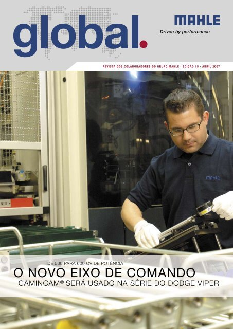 O NOVO EIXO DE COMANDO - Mahle