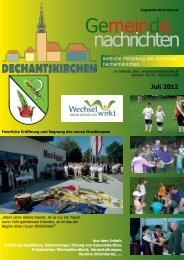 Juli 2012 - Gemeinde Dechantskirchen
