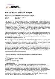 PDF :: fair-NEWS.de :: Einfach schön natürlich pflegen
