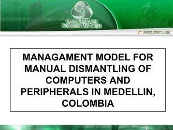 Expertos que trabajaron con el CNPMLTA - e-Waste. This guide