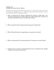 Worksheet 20: Multiple Choice; Short Answer. (80 pts.) We learned a ...
