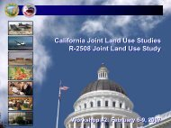 California Joint Land Use Studies R-2508 Joint Land Use Study