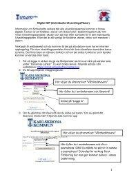 1 Digital IUP (Individuella UtvecklingsPlaner) Information om ...