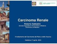 Targeted Therapy - Oncologia Rimini