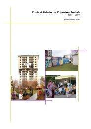 Projet Contrat Urbain de Cohésion Sociale - Ville de Pontarlier