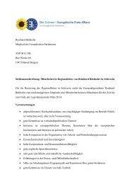Reinhard Bütikofer Mitglied des Europäischen Parlaments ASP 08 G ...