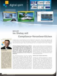 Im Dialog mit Compliance-Verantwortlichen - Compliance Training