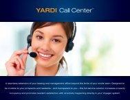 YARDI Call Center™