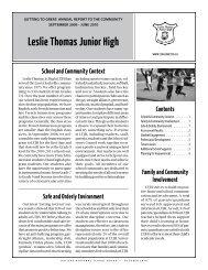 Student Engagement - Leslie Thomas Junior High School - Nova ...
