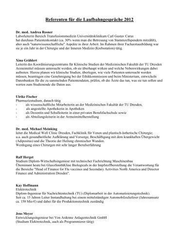 Referenten Laufbahngespräche 2012