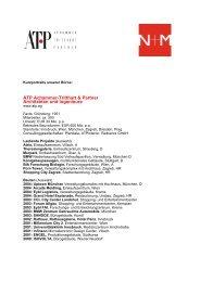 ATP Achammer-Tritthart & Partner Architekten ... - Architekten24.de