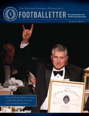 Vol. 54, No. 3 - The National Football Foundation