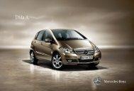 Třída A. - Mercedes-Benz PRAHA
