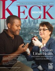 Focus on Urban Health - Keck School of Medicine of USC ...
