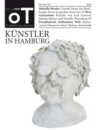 Mariella Mosler - Das Magazin für Kunst, Architektur und Design