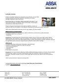 ASSA 2000 EVO / ASSA 2000 kasutus- ja ... - ASSA ABLOY - Page 2