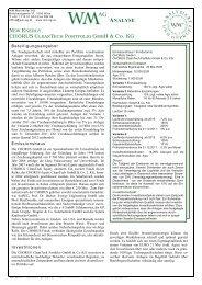 WM AG Analyse - Chorus Clean Portfolio (44,91 KB)