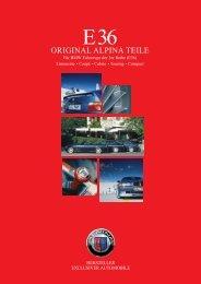 E36 Parts & Accessory - BMW Alpina