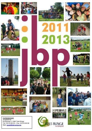 jeugdbeleidsplan 2011 - gemeente Tielt-Winge