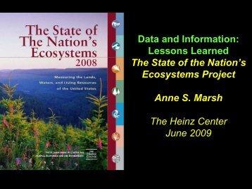 Data and Information - Environmental Evaluators Network