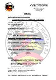 amajjyda 2013 - Federación Española A. de Jiu Jitsu y DA