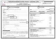 formulaire de demande de licence 2010/2011 : ligue rhone - alpes