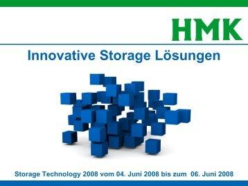 Innovative Storage Technologien