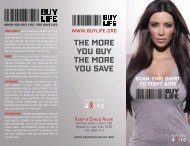 THE MORE YOU BUY THE MORE YOU SAVE - Keep a Child Alive