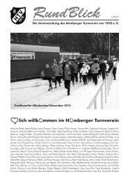 Rundblick I - Homberger Turnverein 1878 e. V.
