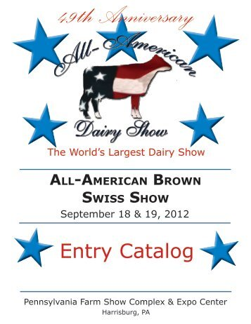 Brown Swiss Open - All-American Dairy Show