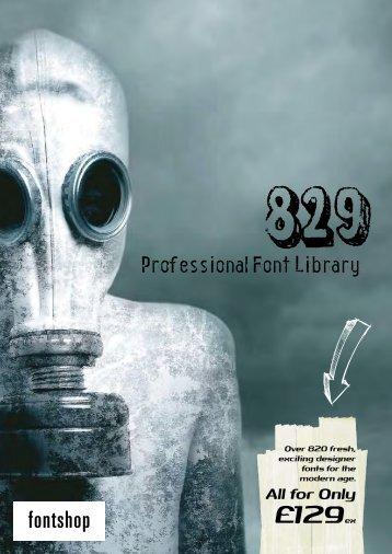 PDF Specimen Booklet - Fontworks UK Ltd