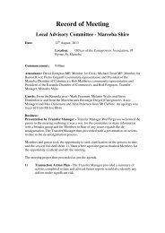 Meeting 12 August 2013 - Tablelands Regional Council
