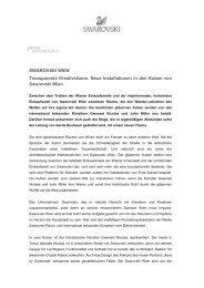 Download PDF (119.5 kb) - Swarovski Wien