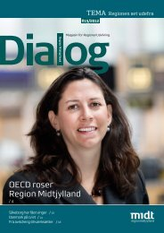 Oecd Commends Central Denmark Region Region Midtjylland