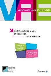 guide VAE - Agence nationale des services à la personne
