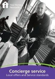 Concierge service - Your Homes Newcastle