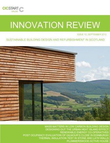 CIC Start Online Innovation Review September 2012