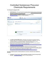 Controlled Substances Storage Requirements - UCI Environmental ...