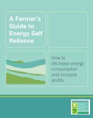 A Farmer's Guide to Energy Self Reliance - Energy Solutions for ...