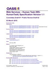 Committee Draft 07 - docs oasis open - Oasis