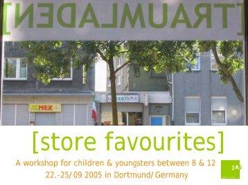 Traumladen Workshop in Text(Englisch) und Bild - Jugend ...