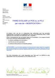 MODIFICATION - Les services de l'État dans l'Yonne