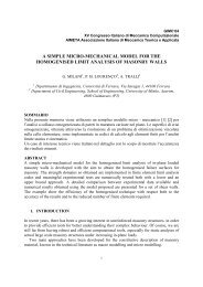 a simple micro-mechanical model for the homogenised limit analysis ...