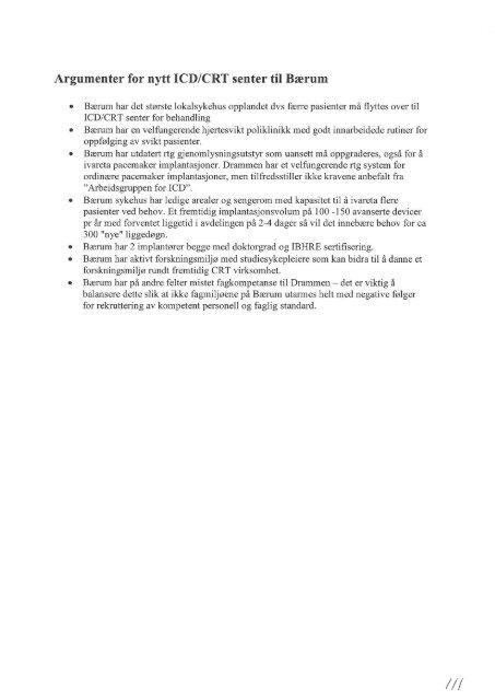 Høringssvar fra andre, del 3 av 4 - Vestre Viken HF