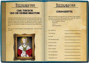Carl Theodor und die geheime Bibliothek (pdf) - Die Wittelsbacher ...
