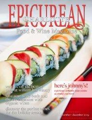 November/December 2009 - Epicurean Charlotte Food & Wine ...